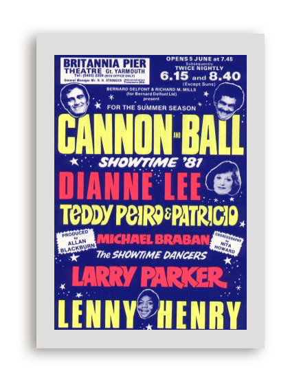Cannon & Ball show poster