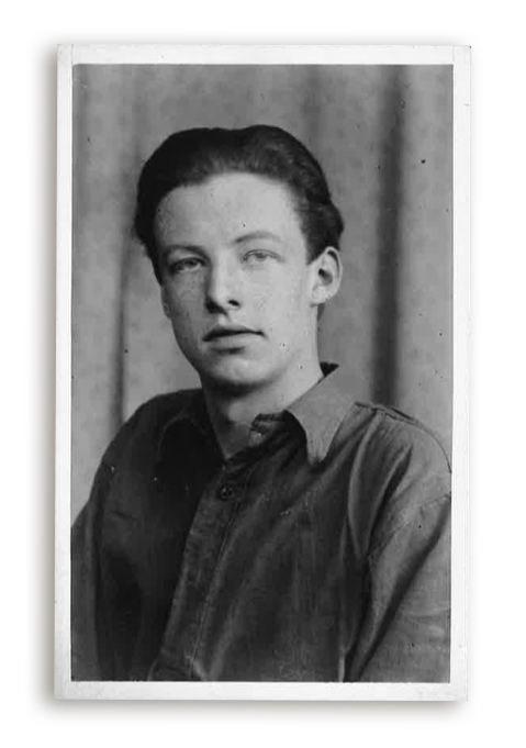 Larry aged 14 years